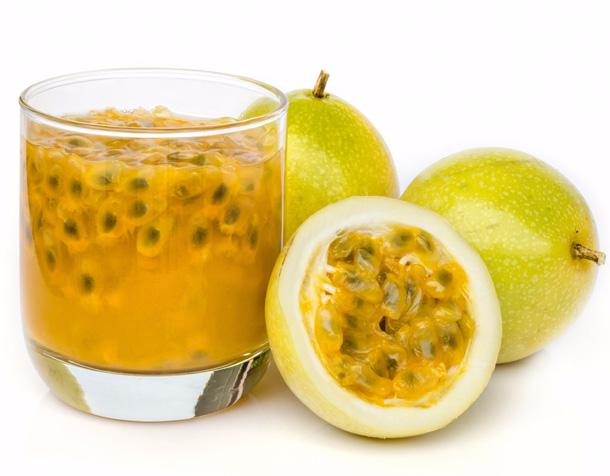 passion fruit puree healthy breakfast with fruit